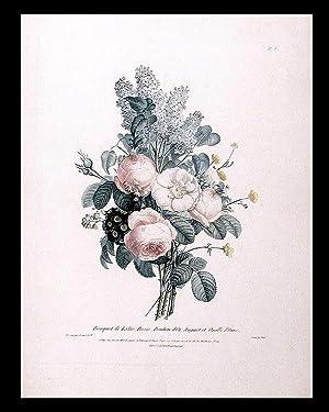 Bouquet de Lilas, Roses, Boutons d'Or, Muguet: PREVOST, Jean Louis