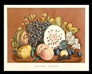 Autumn Fruits: CURRIER & IVES (publishers)