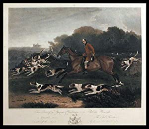 This Print of T. Goosey, Huntsman, to the Belvoir Hounds, is dedicated to the Lord Forrester, ...