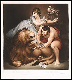 The Lion in Love. Lion Amoûreux: NORTHCOTE, After James, R.A. (1746-1831), engraved by ...