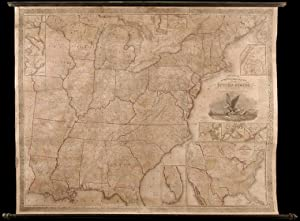 Mitchell's Reference and Distance Map of the United States