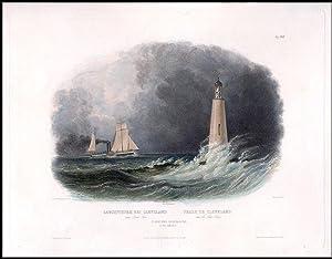 Cleveland Lighthouse on Lake Erie: BODMER, Karl (1809-1893)