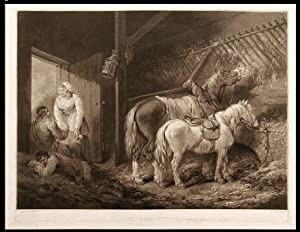 A Carriers Stable: WARD, William after George MORLAND