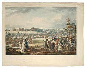 The Royal Review at Hatfield Herts June 13 1800: STADLER, J. C. after ROBERT LIVESAY