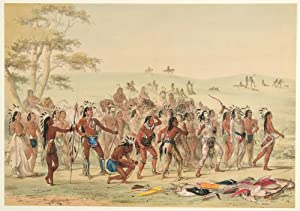 Archery of the Mandans: CATLIN, George (1796-1872)