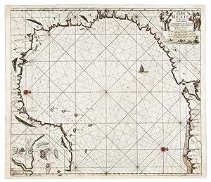 Pas-kaart van de Golff van Mexico: KEULEN, Johannes van (1654-1715) and Claes Janszoon VOOGHT (d. ...