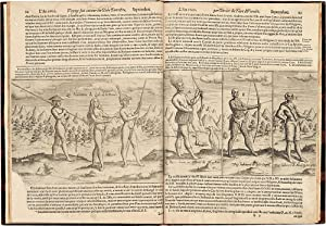 Description du Penible Voyage Fait Entour de L'univers ou Globe Terrestre: NOORT, Olivier van (...