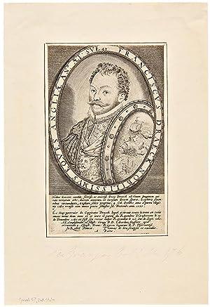 Francisvs Draeck Nobilissimvs Eqves Angliæ AN. ÆT SVE 43: DRAKE, Sir Francis (1540-1596...