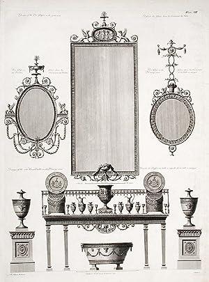 Design for Pier Glass.: ADAM, After Robert (1728-1792)