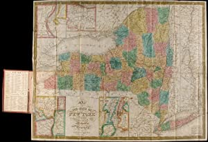 Map of the State of New York Compiled from the Latest Authorities: MITCHELL, S. Augustus]