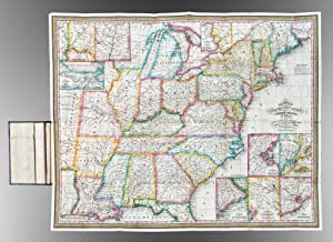 Mitchell's Travellers Guide Through the United States. A Map of the Roads, Distances, Steam ...