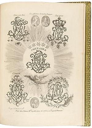 Dictionnaire de Chifres et de Lettres Ornees,: POUGET, Jean-Henri-Prosper (d.1769)