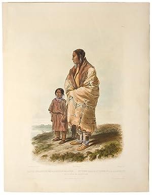 Dacota Woman and Assiniboin Girl: BODMER, Karl (1809-1893)