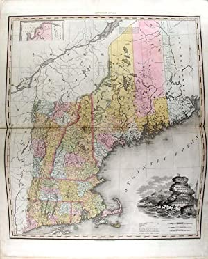 A New American Atlas containing Maps of the Several States of the North American Union, projected ...