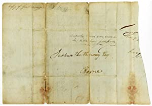 Autograph Letter, Signed, Written to Joshua Hatheway at Rome, N.Y. By General Jacob Brown ...