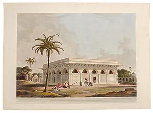 Mausoleum of Amir Khusero at the ancient City of Delhi: DANIELL, Thomas (1749-1840) and William ...