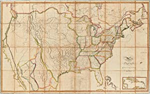 Map of the United States with the: MELISH, John (1771-1822)