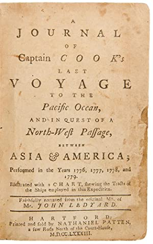 A Journal of Captain Cook's Last Voyage to the Pacific Ocean, and in Quest of a North-West Passag...