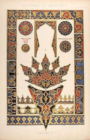 Turkish No. 1: JONES, Owen (1809-74)