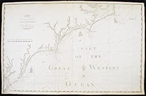 Chart of the Coast of America from Cape Hateras [sic] to Cape Roman from the actual surveys of Dl. ...