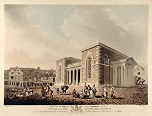 View of the New Council House, Salisbury: JUKES, Francis (1745-1812) after Edward DAYES (1763-1804)