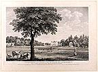 A View of Coombank near Sevenoak in Kent, the Seat of the Honble. Lieutt. Genl. Campbell / Ve&...
