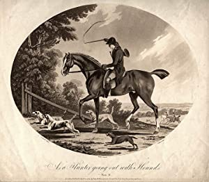 As a Hunter going out with Hounds: JUKES, Francis (1745-1812) after Charles ANSELL (b. 1752)
