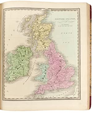 A New Universal Atlas; comprising separate maps of all the principal empires, kingdoms & states t...
