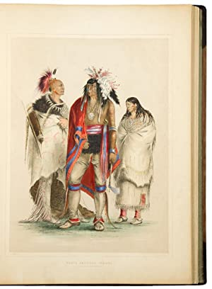 Catlin's North American Indian Portfolio. Hunting Scenes and Amusements of the Rocky Mountains an...