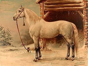 De Russische Harrdraver [Russian Trotter]: EERELMAN, Otto (1839-1926)