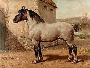 Het Bretagner Paard [Breton Horse]: EERELMAN, Otto (1839-1926)
