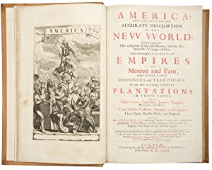 America: being the latest, and most accurate description of the New World . Collected from most a...