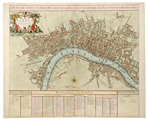 A Plan of the City's of London, Westminster and Borough of Southwark with the new Additional Buil...