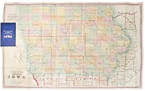 A Township Map of the State of Iowa Compiled from the United States Surveys, official information...