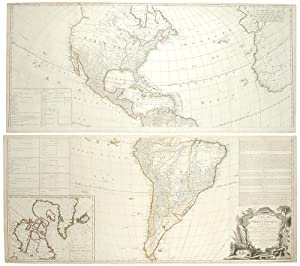 A New Map of the Whole Continent of America, divided into North and South America and West Indies...