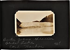 Album of Original Photographs from three Arctic expeditions commanded by Donald Baxter MacMillan