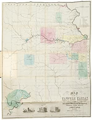 Map of Eastern Kansas