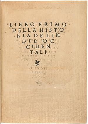Summario de la General Historia de I'Indie Occidentali.(title given on verso of first leaf)]: ...