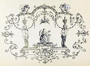 An original design for a porcelain plate: SAMSON & CO. (designers)