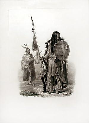 Assiniboin Indians: BODMER, Karl (1809-1893)