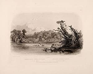 Punka Indians camped on the banks of the Missouri: BODMER, Karl (1809-1893)