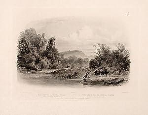Washinga Sahba's grave on Blackbird's Hills: BODMER, Karl (1809-1893)