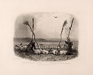 Offering of the Mandan Indians: BODMER, Karl (1809-1893)