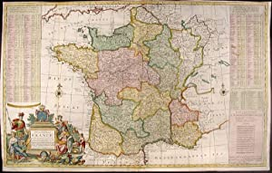 A New and Exact Map of France Dividid into all its Provinces and Acquisitions, according to the N...