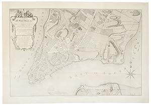 Plan of the City of New York: RATZER, Bernard (fl.1756-77)
