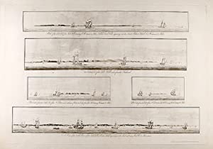 Sable Island] [A series of five views: DES BARRES, J.F.W.