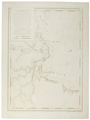 Chart of Port Shediack [&] Cocagne (New: DES BARRES, J.F.W.