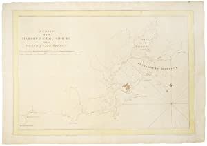 A Chart of the Harbour of Louisbourg: DES BARRES, J.F.W.