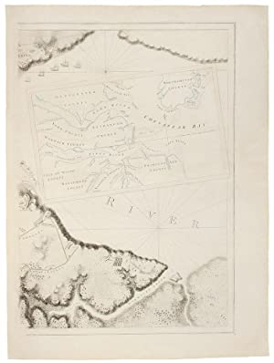 YORKTOWN] [A Plan of the Post of: DES BARRES, J.F.W.