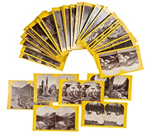 [Group of stereoview photographs of Colorado on original U.S. Geological Survey mounts]